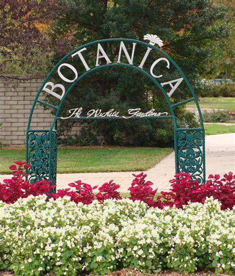 Botanical Garden Wichita Ks Murdock Entrance Garden Botanica