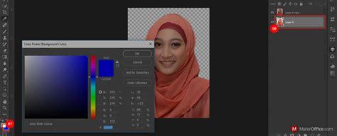 cara edit foto di photoshop menggunakan clone st tool cara membuat pas foto merubah background foto