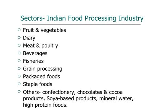 Food Manufacturing Mba by Summer Presentation