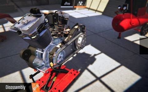 biker garage mechanic simulator indir full oyun indir