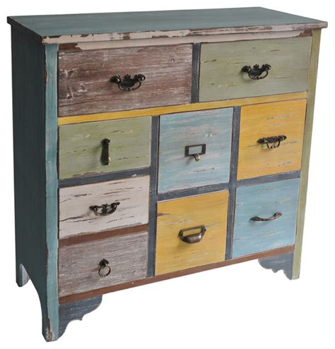 decorative wooden storage drawers cheungs home decorative multicolor wooden chest with 9