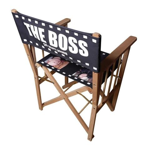 Personalized Chair by Personalised Directors Chair Custom Print Directors
