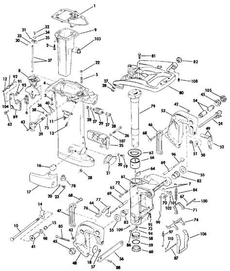 evinrude outboard parts diagram engine diagram 1987 evinrude prop engine get free image