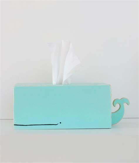tissue holder whale tissue holder light blue
