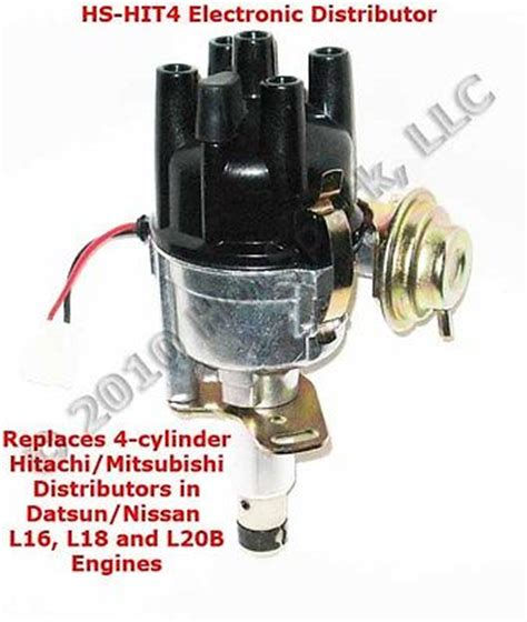new 4 cylinder electronic distributor for datsun nissan