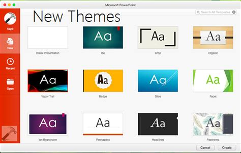 new microsoft powerpoint templates review what s new in microsoft office 2016 for mac