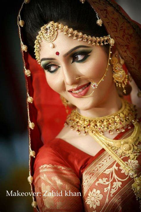 bengali bridal hairstyles video 145 best bangladeshi bride images on pinterest nose