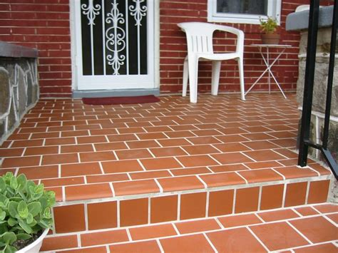 quarry tile front porch remodeling yelp