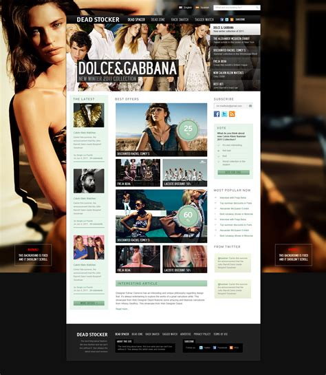 layout blog psd download 15 free psd website design templates