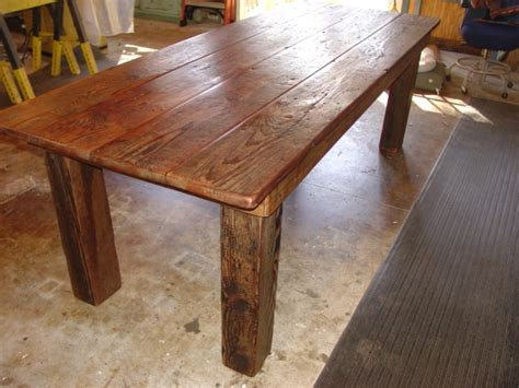 Kitchen Farm Table Primitive Dining Table