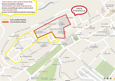 ufficio ztl roma ztl cerveteri mappa orari telecamere parcheggi
