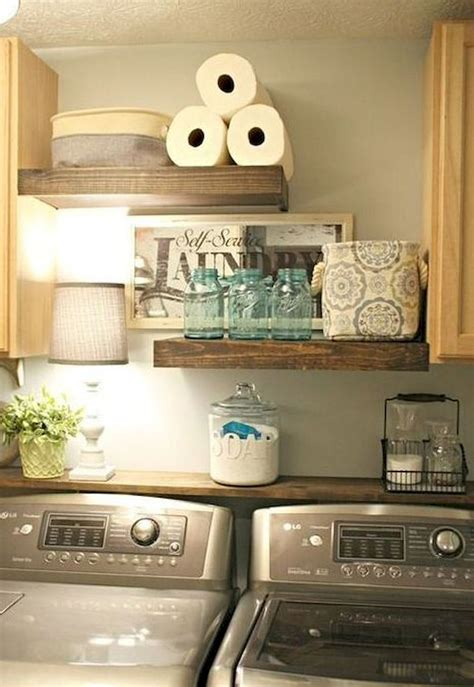 laundry room decor ideas rustic farmhouse laundry room decor ideas 50 roomodeling