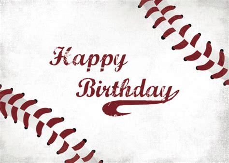 send baseball birthday wishes. free happy birthday ecards