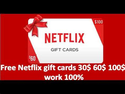 How To Pay For Netflix With Gift Card - how to get netflix gift card without pay new update 2018 online youtube