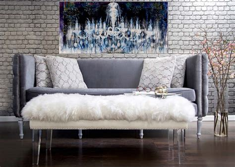 grey velvet sectional sofa grey velvet sofa with nailheads
