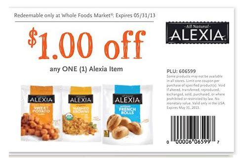 manufacturer coupons for whole foods