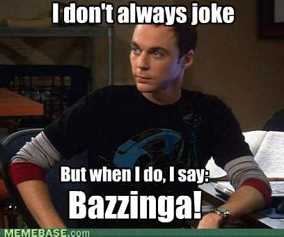 Bazinga Meme - geek rant big bang theory isn t funny turner watson