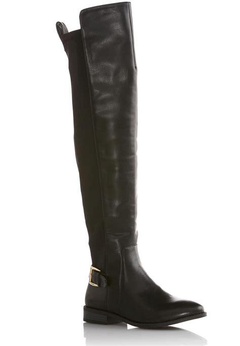 cato boots stretch back the knee boots boots cato fashions
