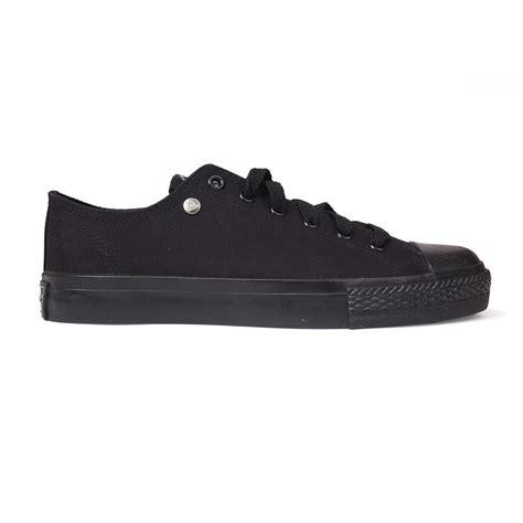 dunlop dunlop canvas low junior trainers canvas shoes