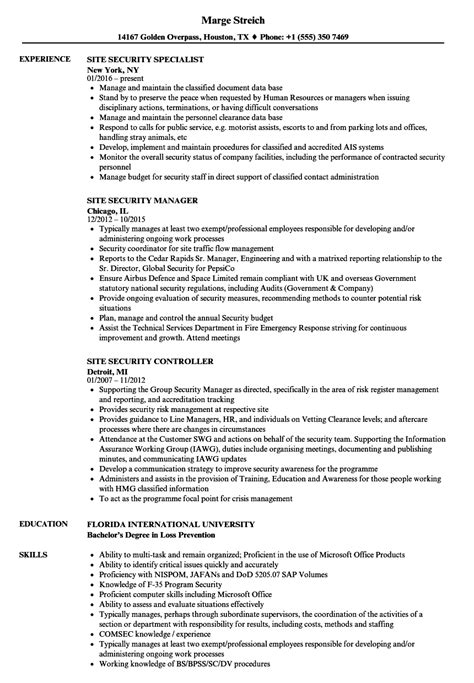 Ccna Security Officer Cover Letter by Ccna Security Officer Sle Resume Formal