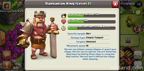 clash of clans barbarian level 7 barbarian king clash of clans level 7 www pixshark com