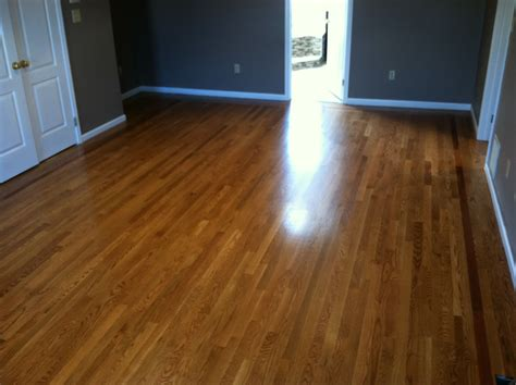 1 or 2 coats of stain on hardwood floors bona floor poly application floor matttroy