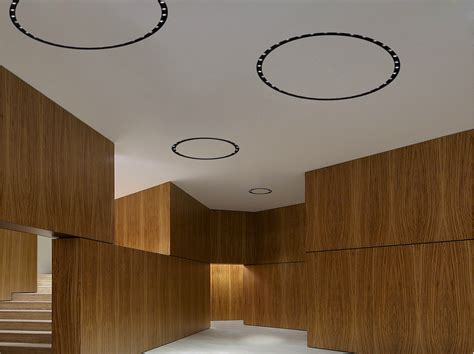 Built In Ceiling Lights Built In Lighting Profile For Led Modules Circle Of Light By Flos