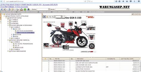 Katalog Spare Part Yamaha R15 katalog aksesoris gsx s 150 warungasep