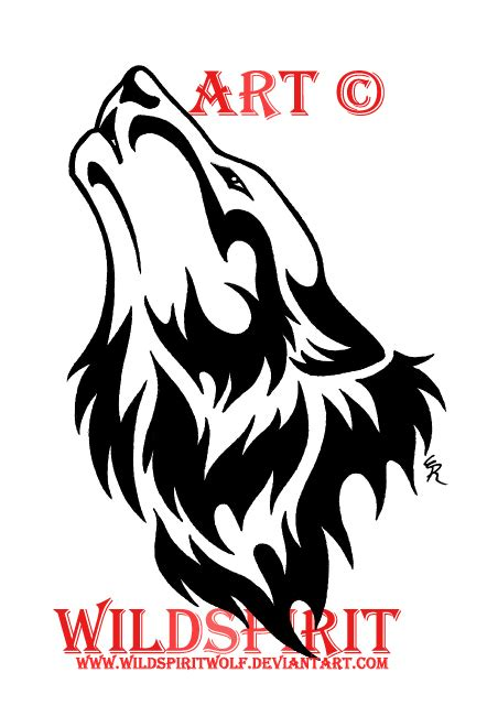 proud howling wolf head tattoo oploz wolf