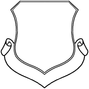 blank family crest template cliparts.co