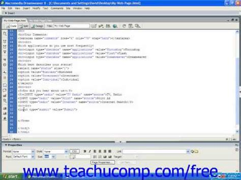 html tutorial submit button html tutorial submit button training lesson 13 8 youtube