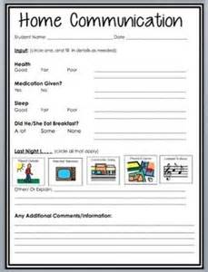 communication record template communication log communication and special education on
