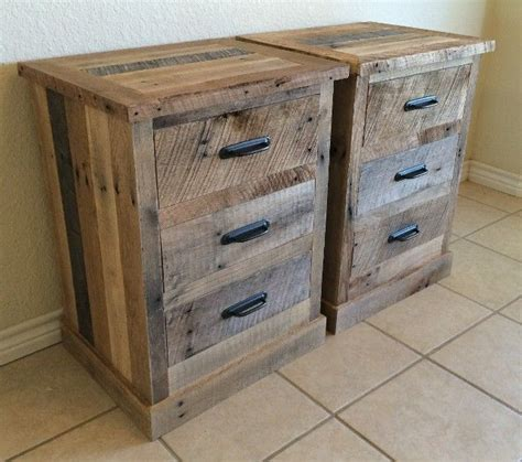 pallet board night stand pallet night stands pallet