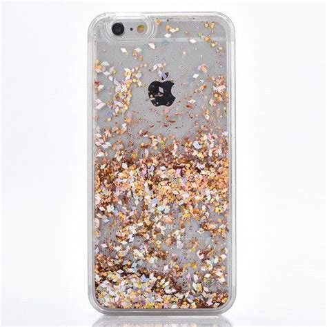 Harcase Gliter Iphone 7 gold cascading glitter for iphone 7 7 plus