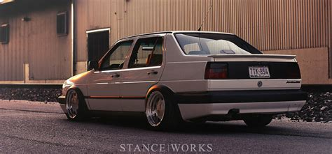 volkswagen jetta stance no part left behind clay hundley s mk2 gli stance works