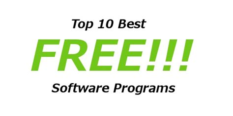 free software top 10 best free software programs for blogging