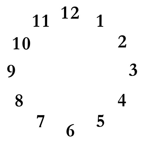 printable clock face without hands image of clock without hands clipart best