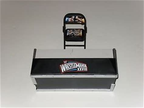 Announce Table by Mattel Exclusive Wrestlemania 28 Build A