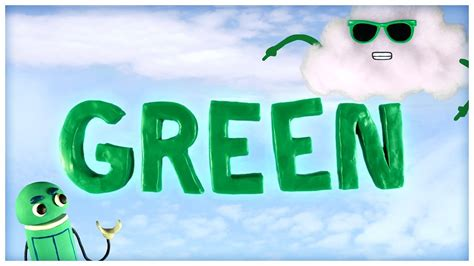 colors by quot think green quot songs about colors by storybots