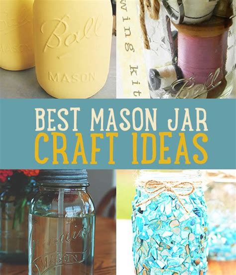 jar diy projects jar crafts cool projects with jars