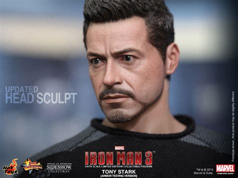 Tony Stark marvel tony stark sixth scale figure by hot toys