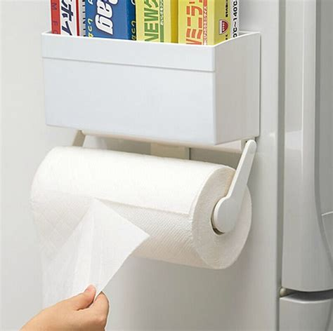 Gallery of magnetic toilet roll holder