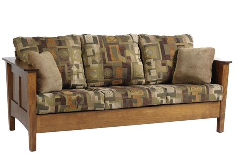 Shaker Style Sofa shaker seating sofa ohio hardwood furniture