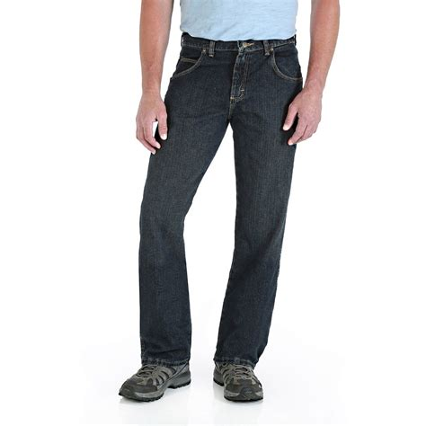 wrangler rugged wear relaxed fit wrangler 31000un 42 inch x 30 inch rugged wear relaxed fit mid rise jean at sutherlands