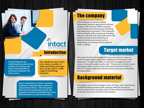 flyer design software online modern professional flyer design for intact software by