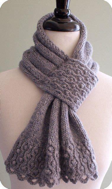 best 25 knit scarves ideas on knitting