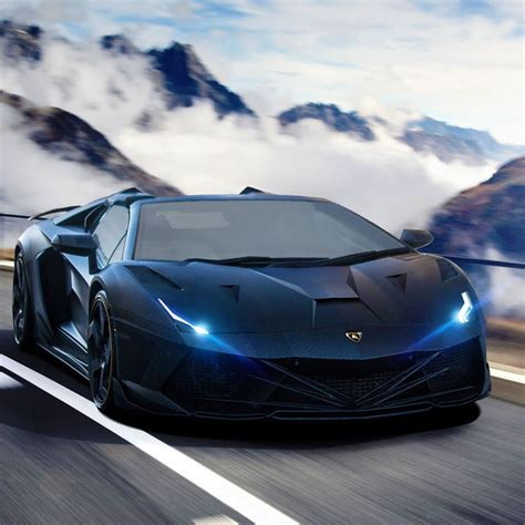 Lamborghini New Supercar Lamborghini Aventador Black Supercar All About Gallery Car