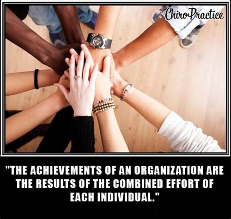 achievements of an the achievements of an organization are the result by