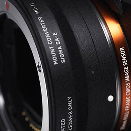 sigma mc 11 mount adapter for canon ef lenses to sony e cameras lens adapters sigma at