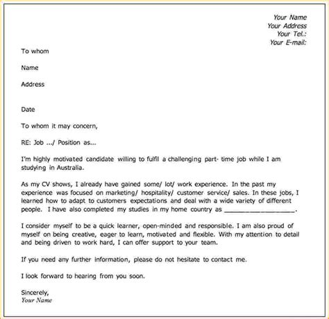 a covering letter 8 how to create a cover letter bibliography format